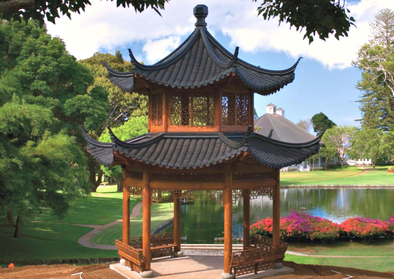 Как сделать крышу в китайском стиле