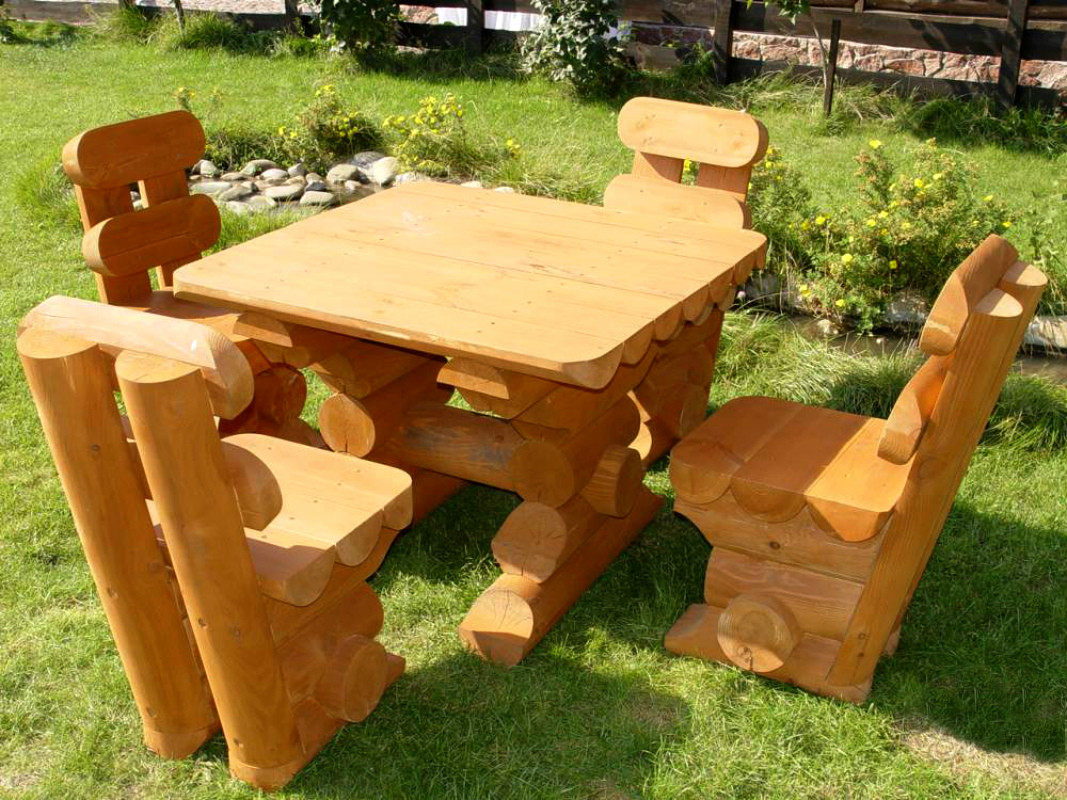 Изготавливаем садовую мебель своими руками фото 453