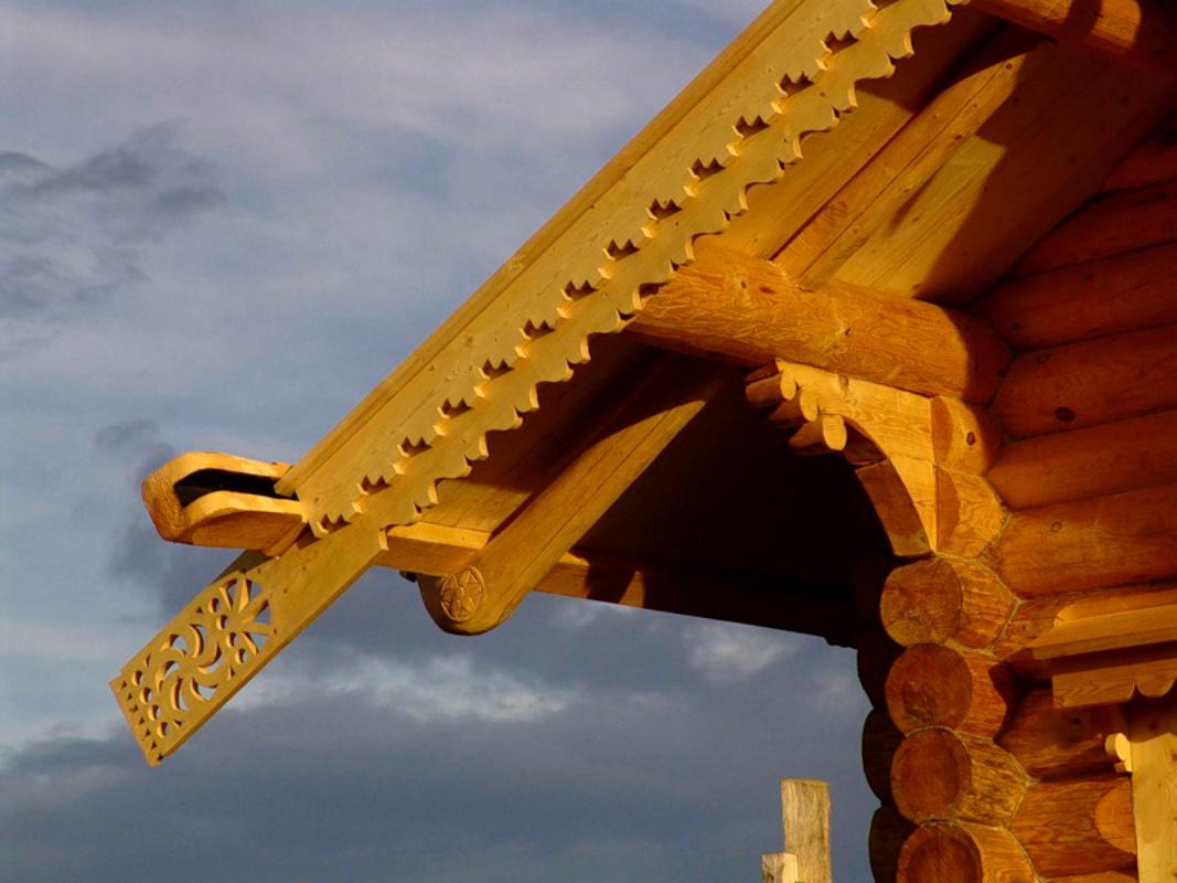 Деревянный конек на крышу своими руками 16