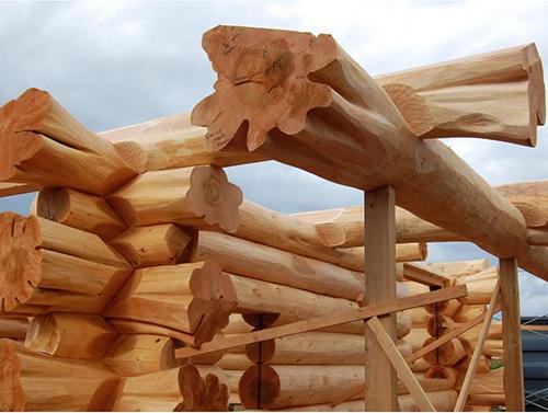 Как сделать деревянный сруб для дома 47