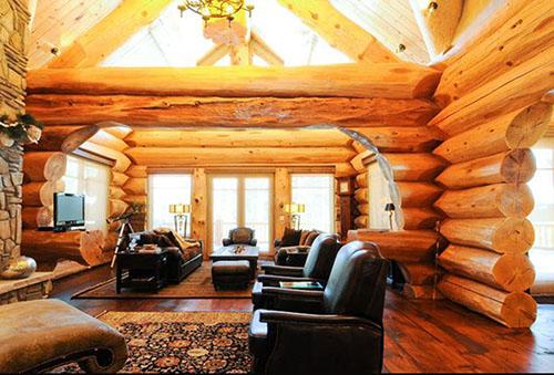 Деревянные дома ручной рубки интерьеры фото