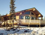 Проект рубленного дома из бревна-Дом на Аляске