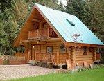 Проект рубленного дома из бревна-Канадское шале