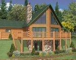 Проект рубленного дома из бревна-Истинный канадец