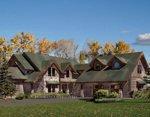 Проект рубленного дома из бревна-Спокойная долина