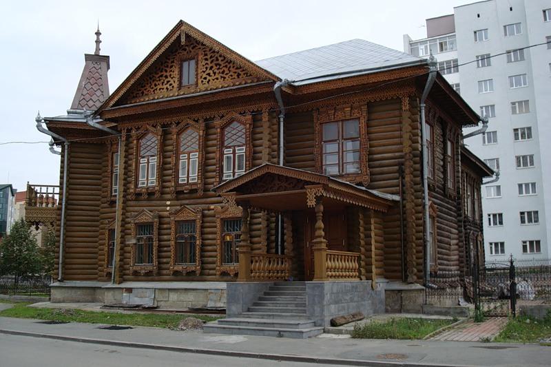 Деревянные дома россии фото