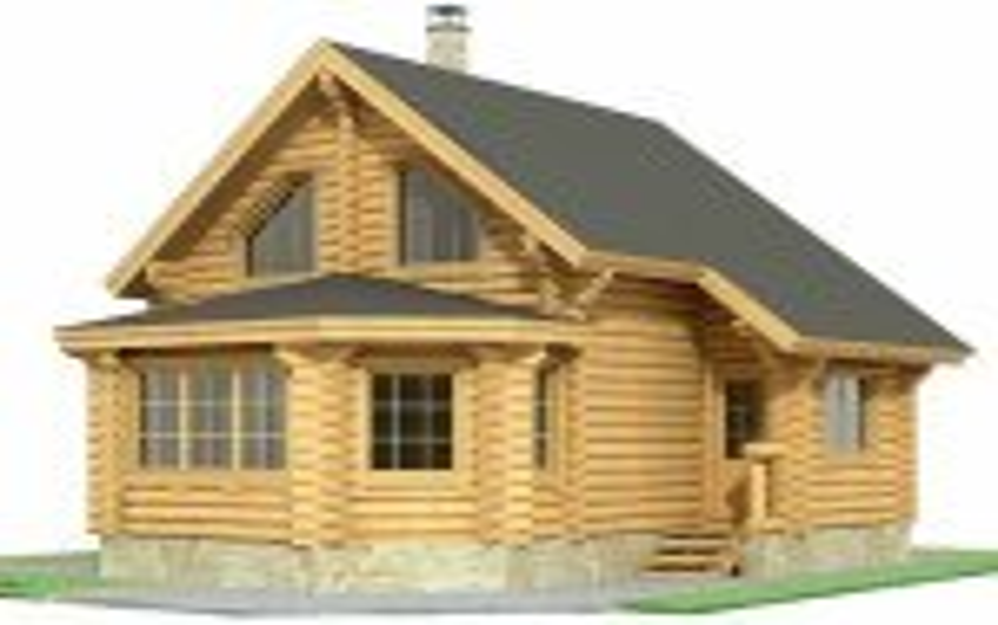 Проект дома из бревна-дом 101