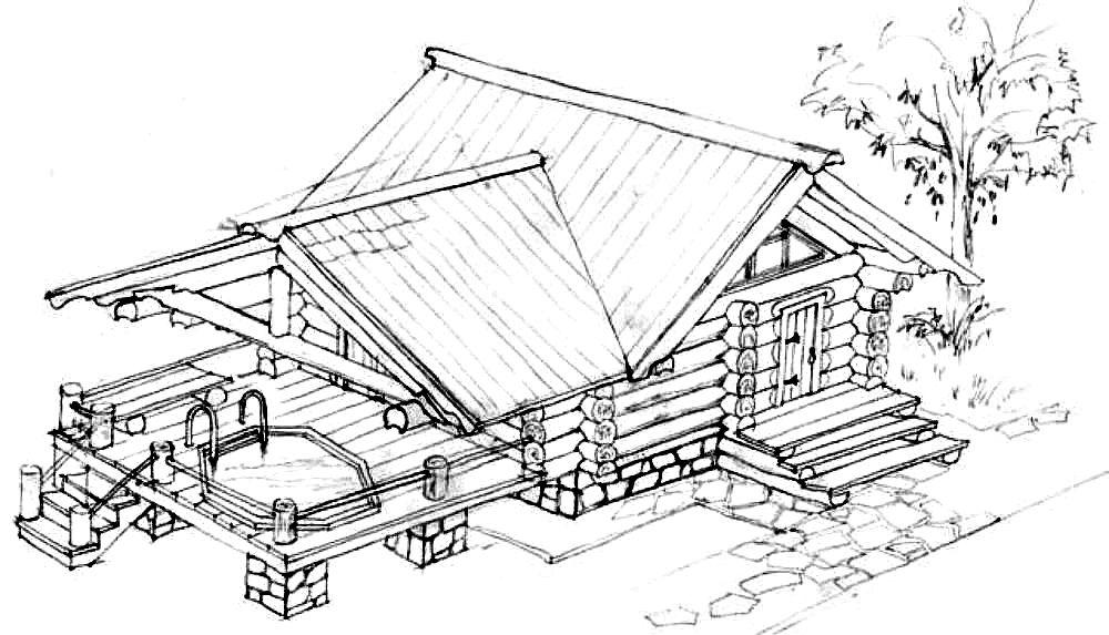 Дизайн в садовом домике фото