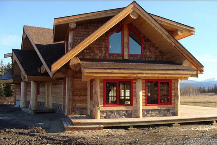Дома в канадском стиле -истоки канадского дома