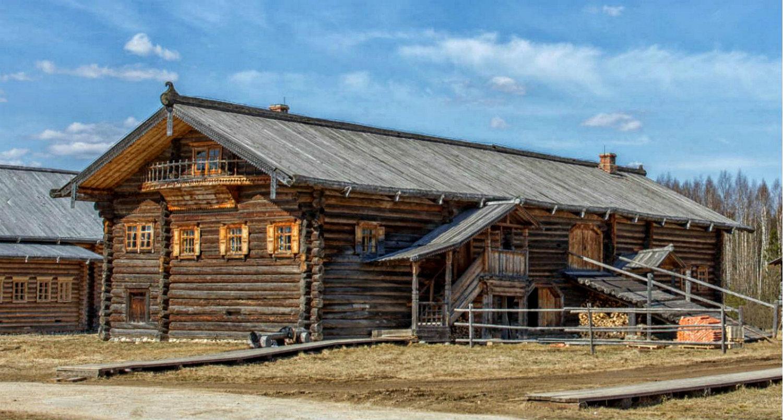 Двухскатная крыша-фасад №2