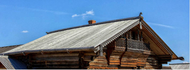 Двухскатная крыша-фасад №5