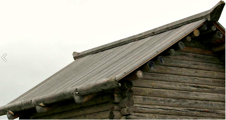 Двухскатная крыша-фасад №7