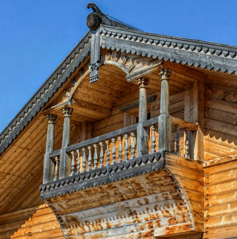 Двухскатная крыша-фасад №9