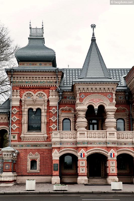 Кубаватая крыша-фасад №19