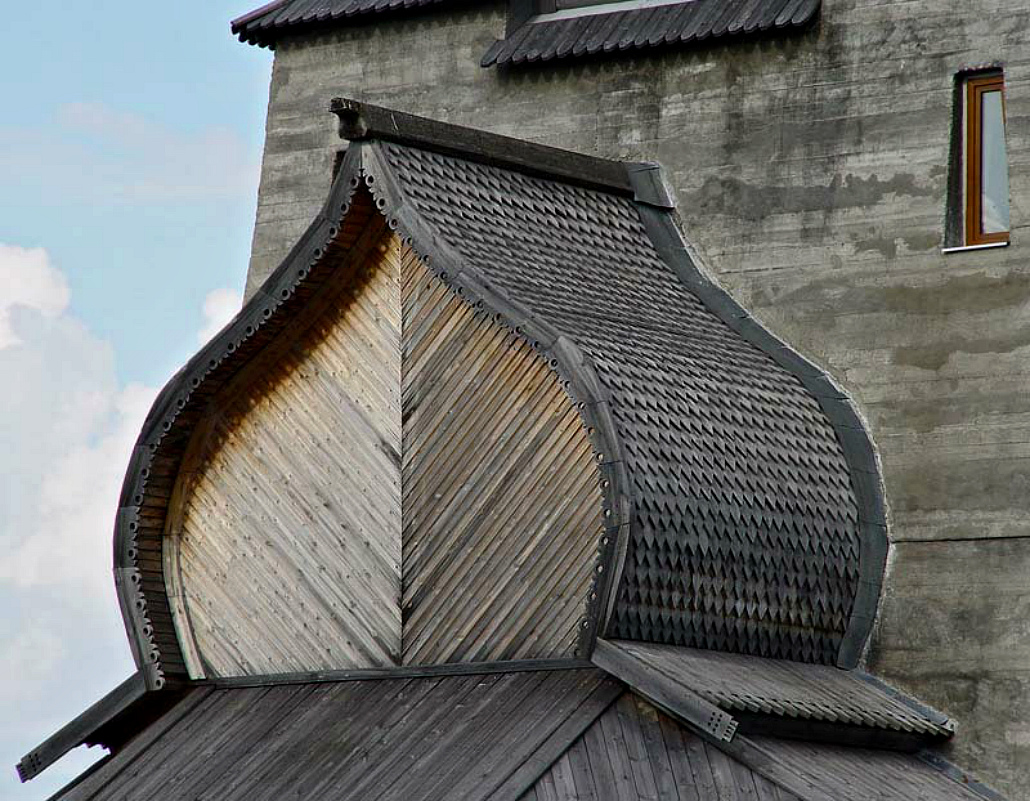 Устройство крыши Бочка-фасад №3