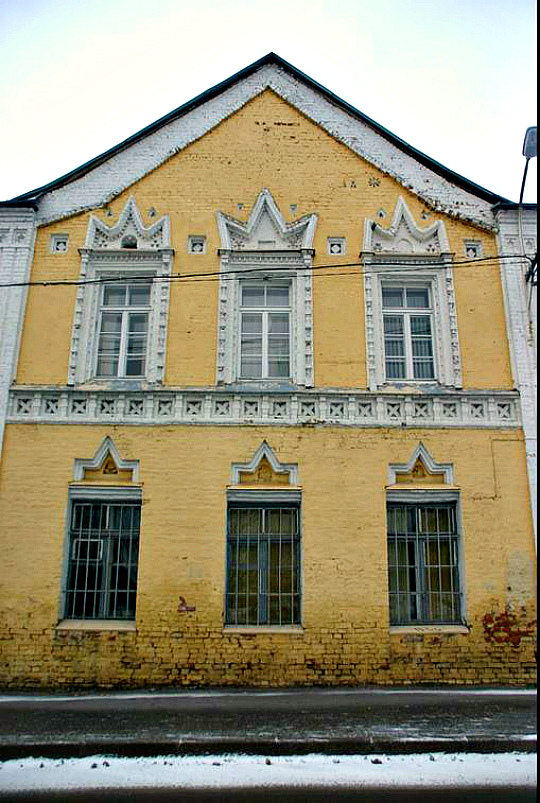 Многощипцовая крыша-фасад №24
