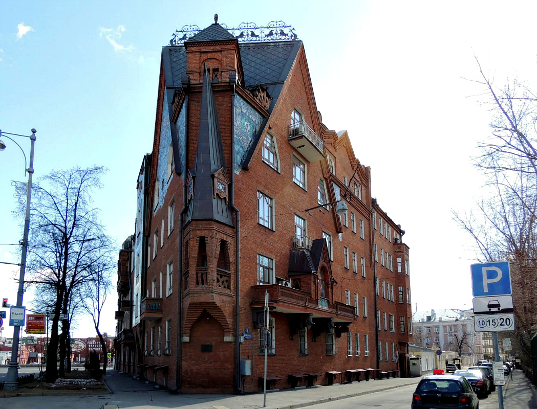 Многощипцовая крыша-фасад №2
