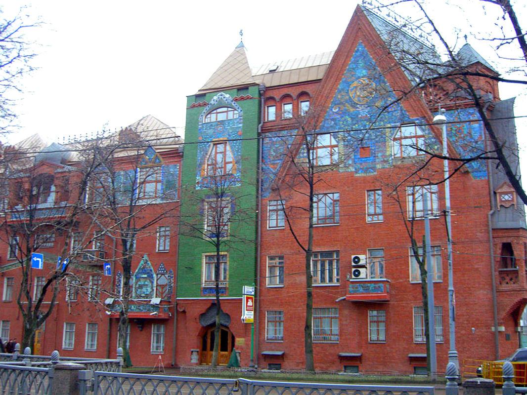 Многощипцовая крыша-фасад №3
