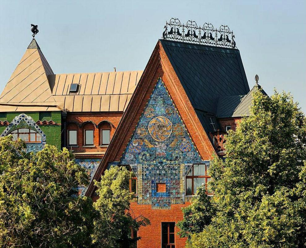 Многощипцовая крыша-фасад №4
