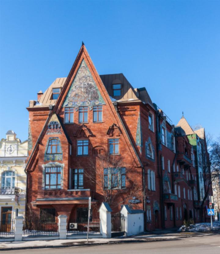 Многощипцовая крыша-фасад №5