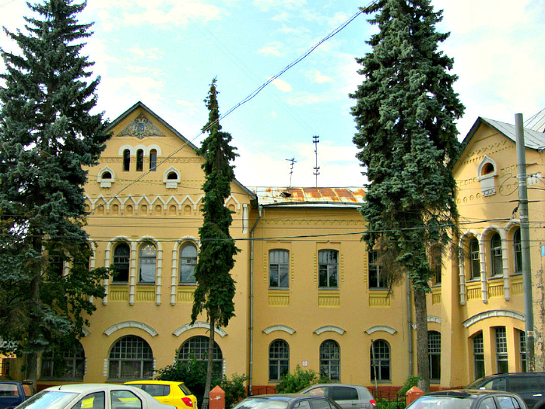 Многощипцовая крыша-фасад №7