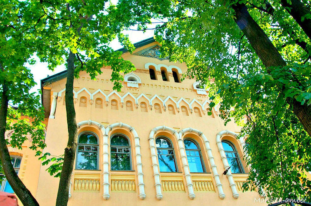 Многощипцовая крыша-фасад №9