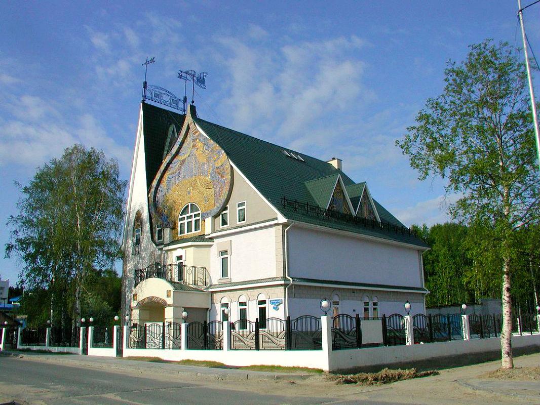Многощипцовая крыша-фасад №22