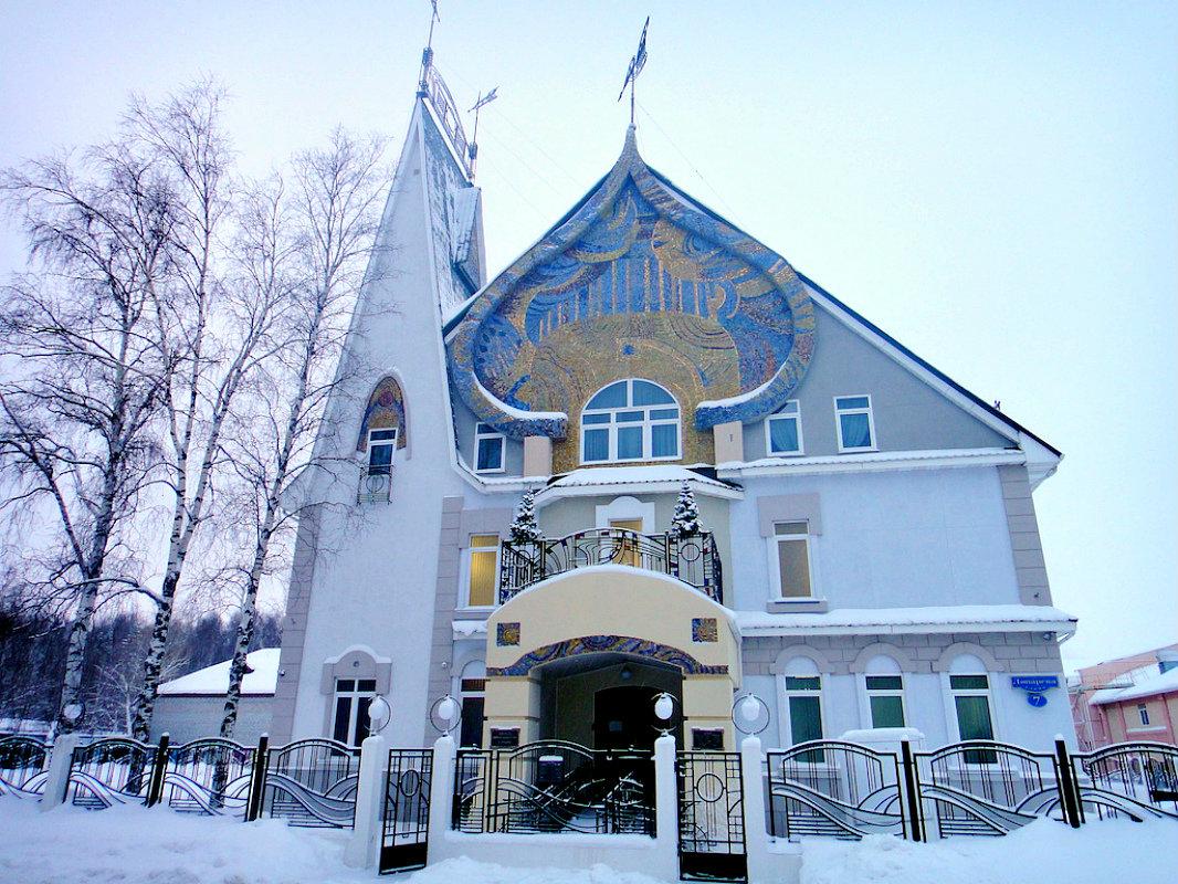Многощипцовая крыша-фасад №23