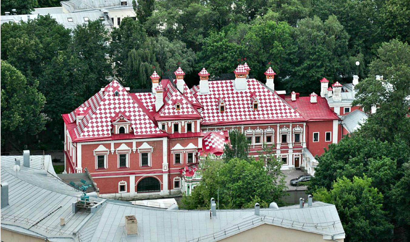 Четырехскатная крыша-фасад №7