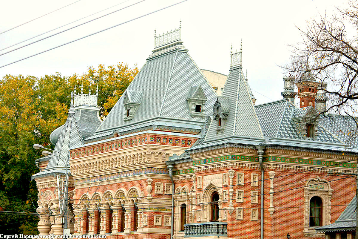 Четырехскатная крыша-фасад №11