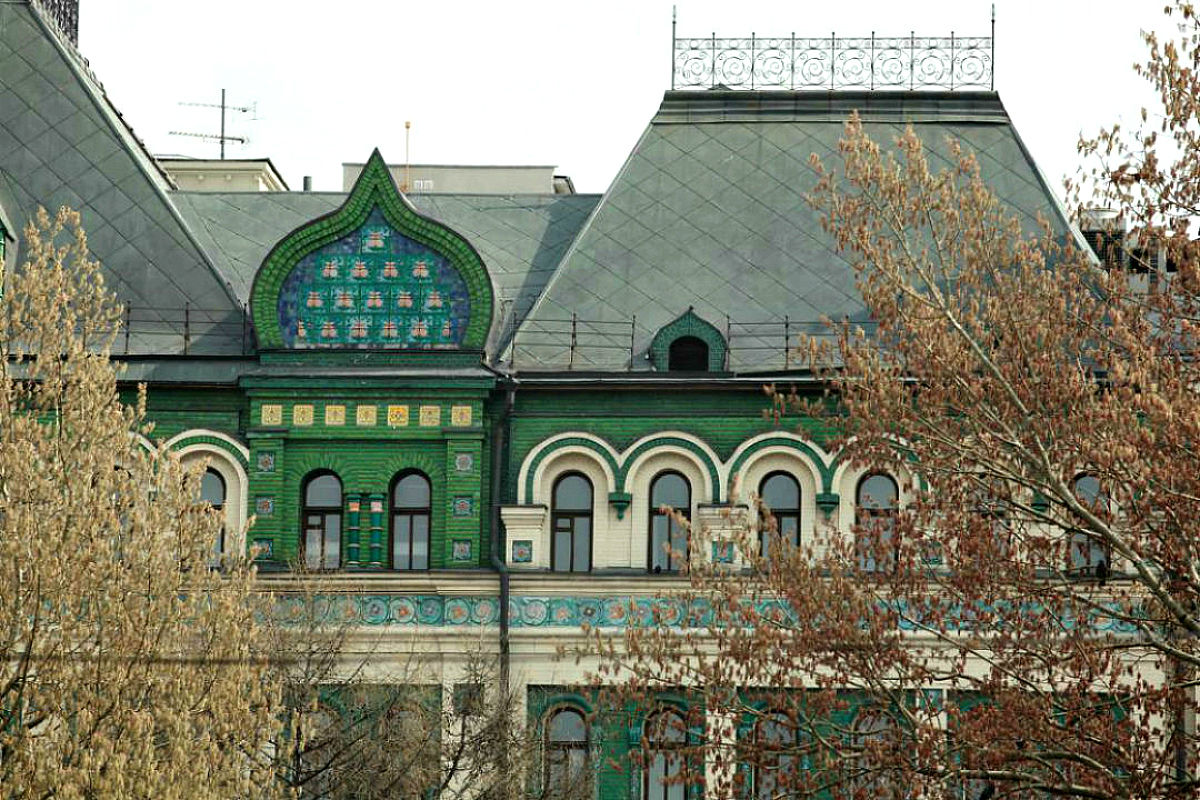 Четырехскатная крыша-фасад №15
