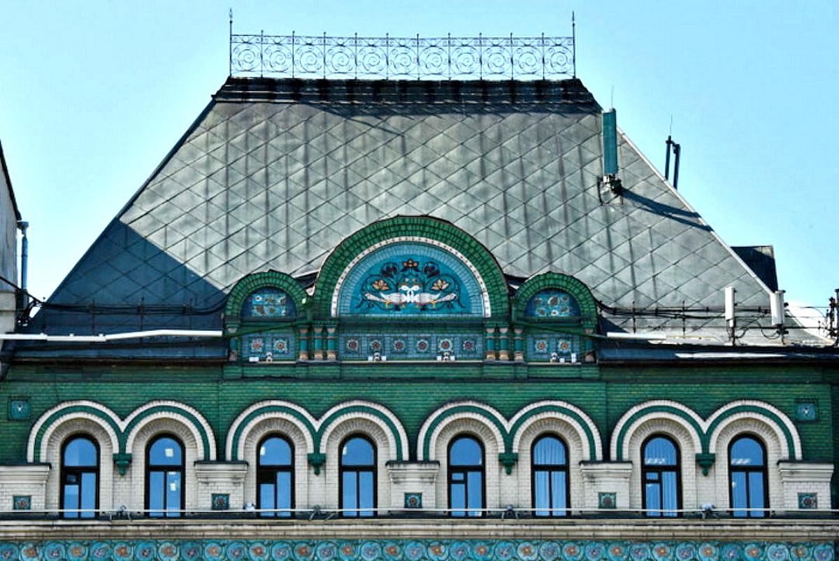 Четырехскатная крыша-фасад №16
