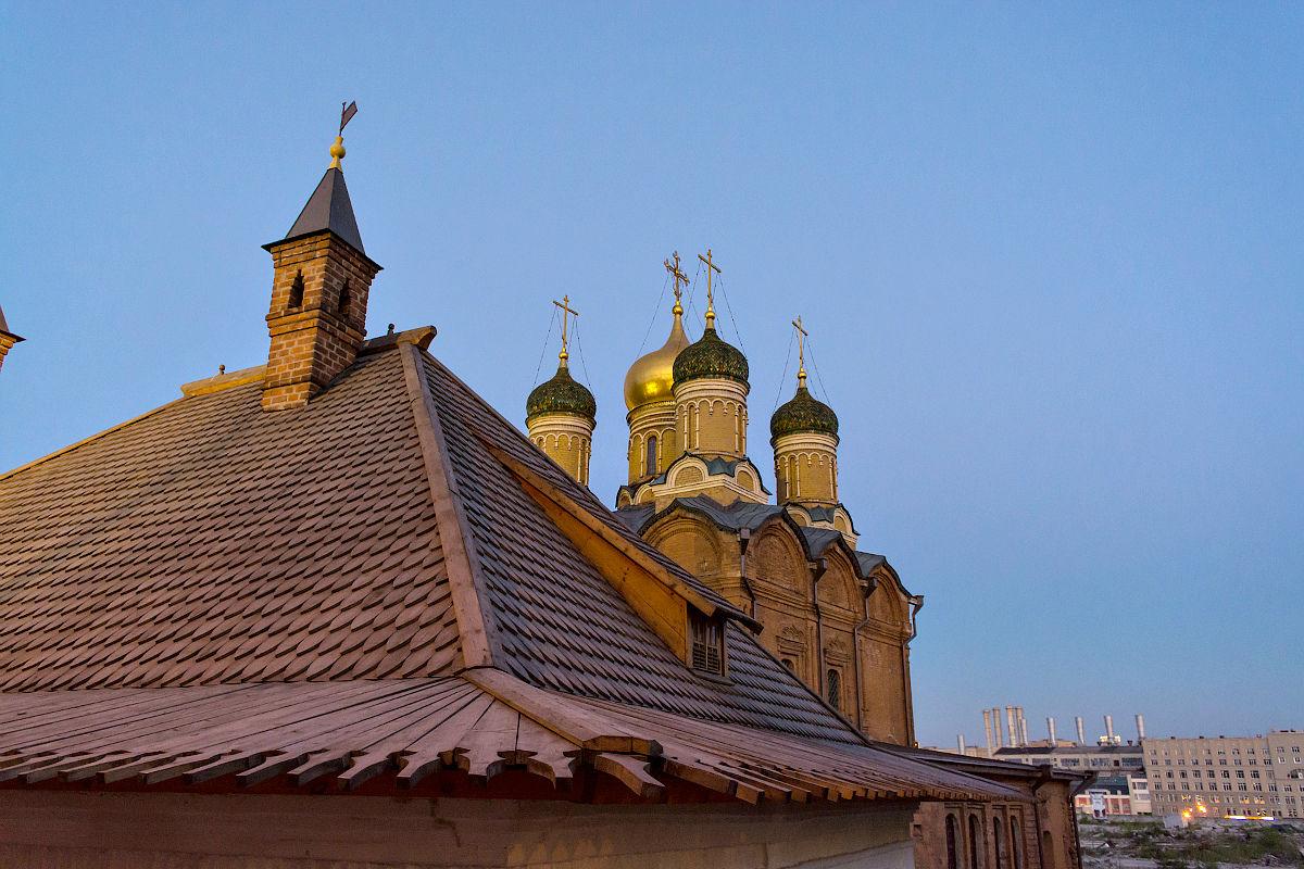Четырехскатная крыша-фасад №17