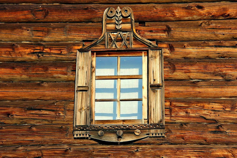 Картинки окно в русской избе