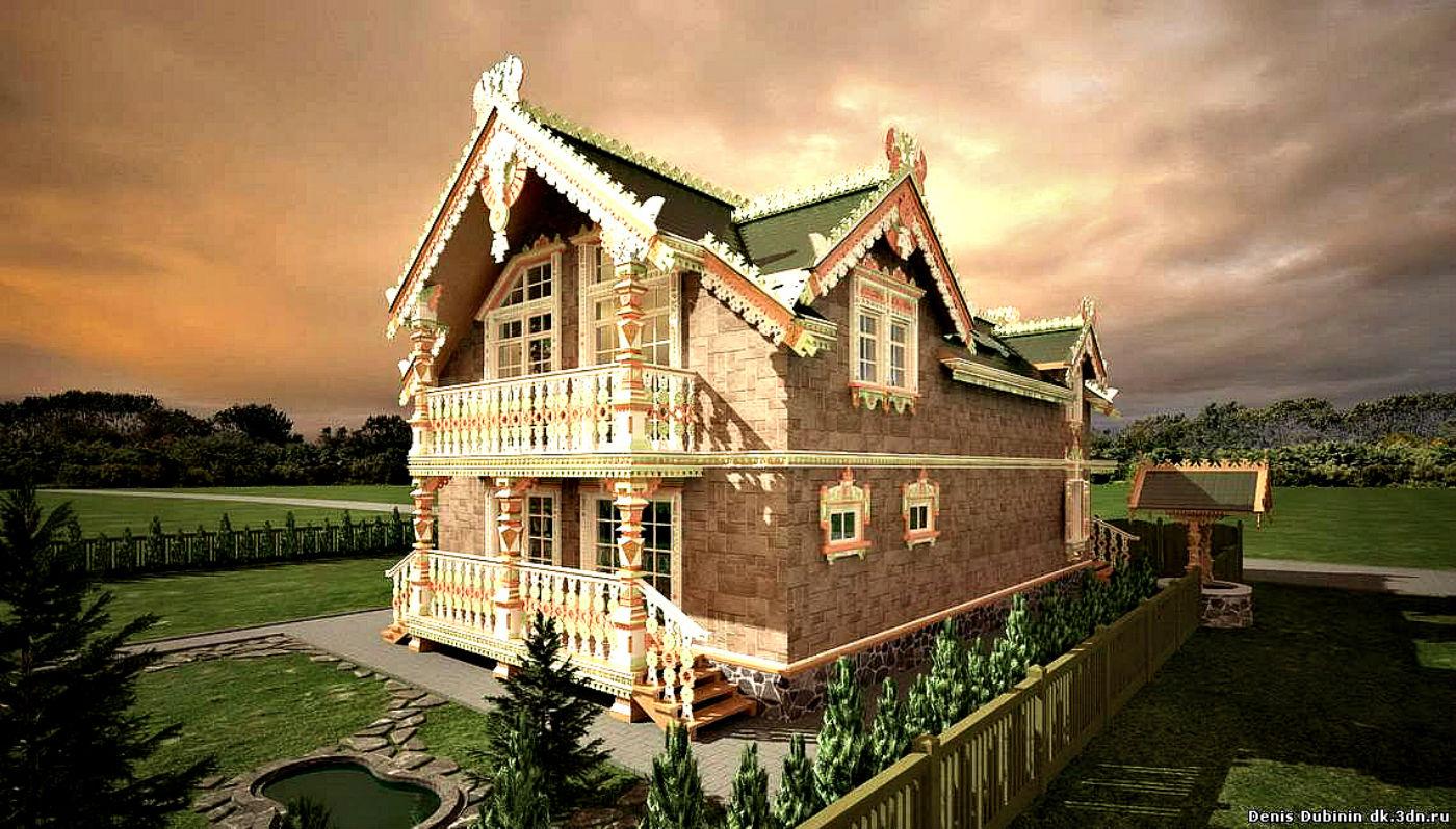 Внутреннее оформление дачного дома фото знаний
