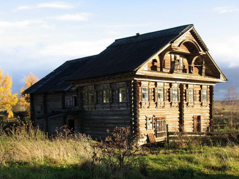 является фото вологодских деревянных домов больше
