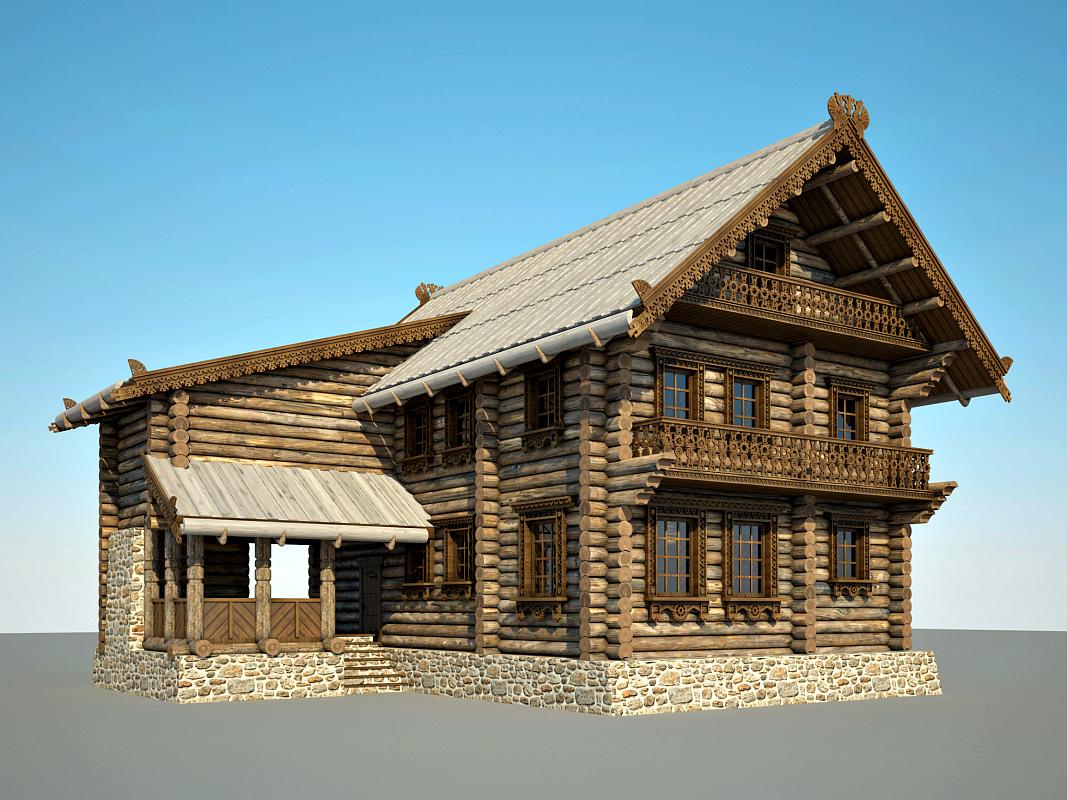фото старинных деревянных домов из бревна съемки