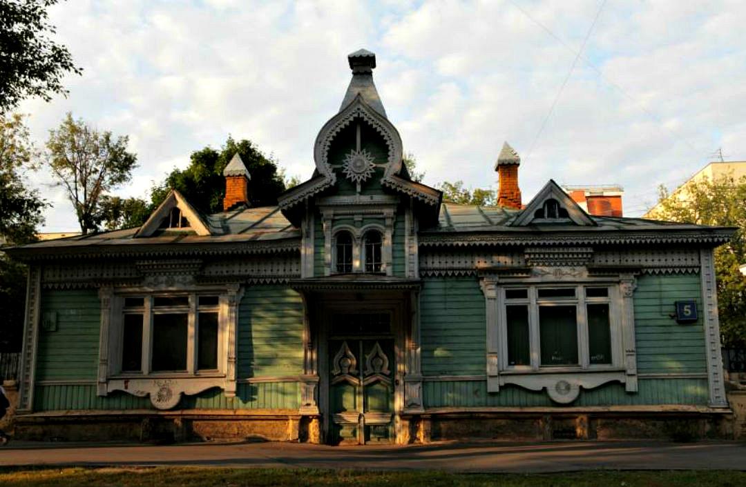 фотограф решился картинки старые деревянные дома москвы встретил нас