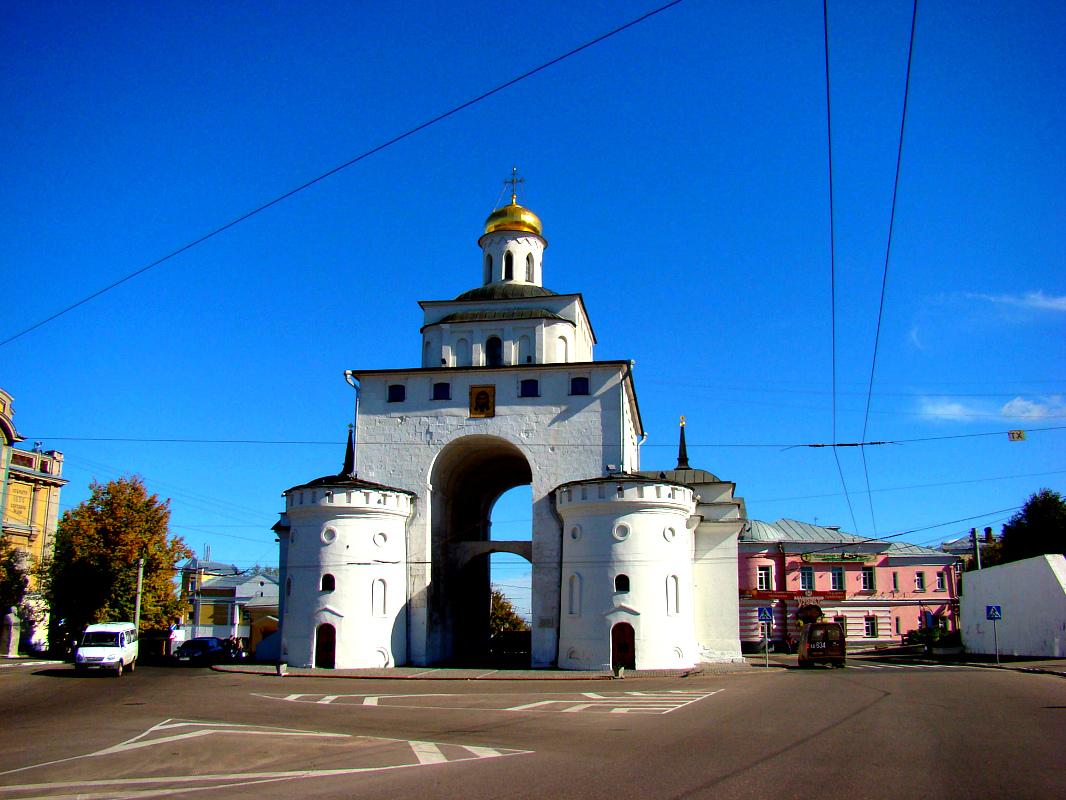 картинка золотые ворота владимир