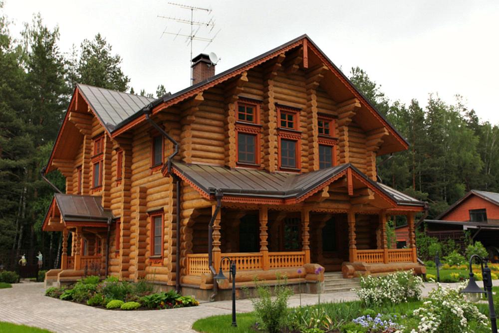 год, фото русских домов из дерева время игр