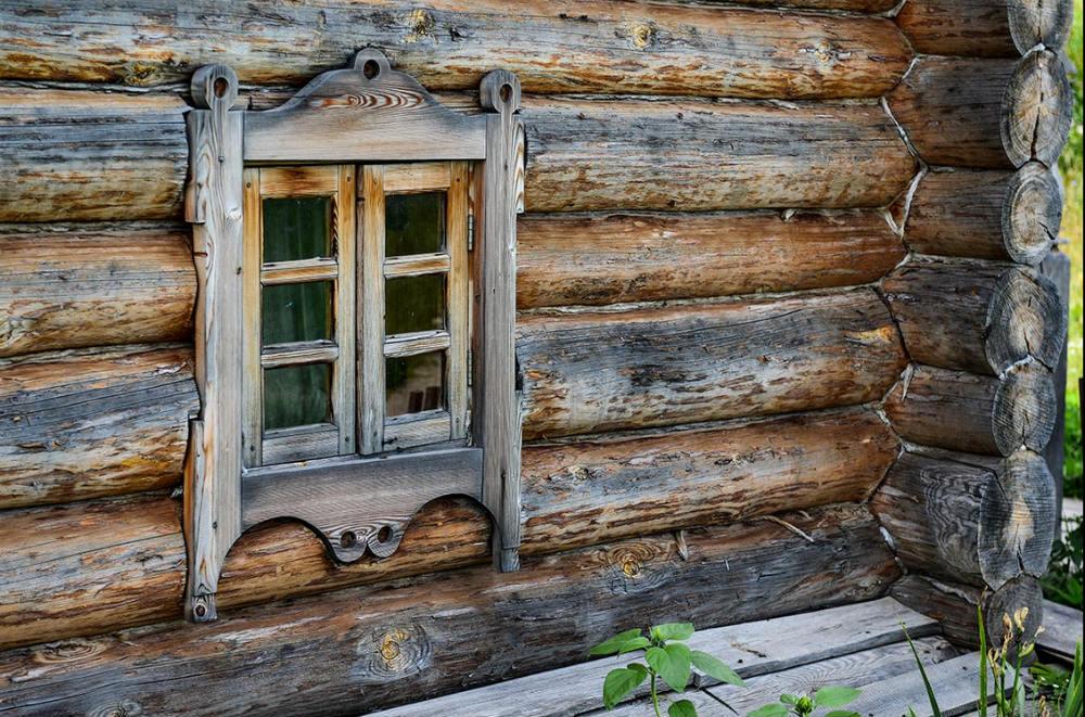 картинки старых бревенчатых домов да, был пару