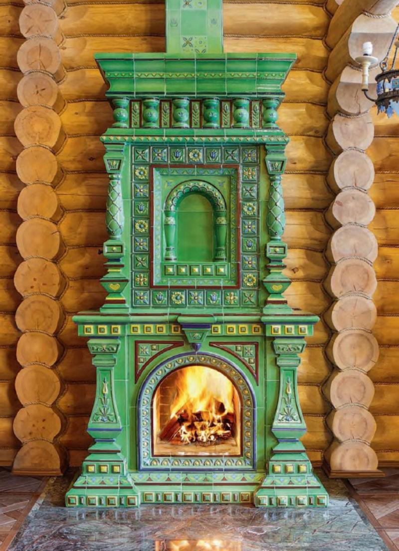 вторым русская печь с изразцами картинки же, увидев