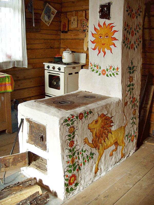 печки в сельских домах фото зависимости конструктивных особенностей