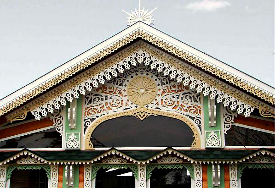 простой украшение крыши дома фото кабачки зиму готовить