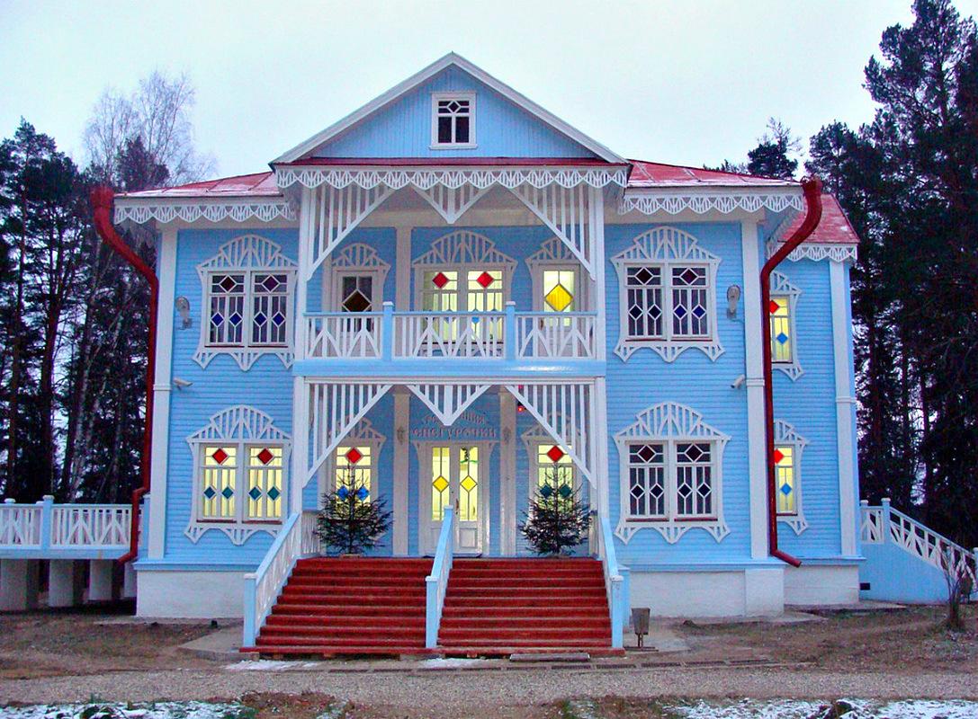Резиденция снегурочки в костроме фото