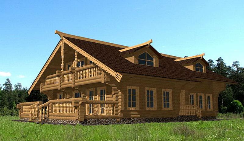 фото терем проекты деревянный