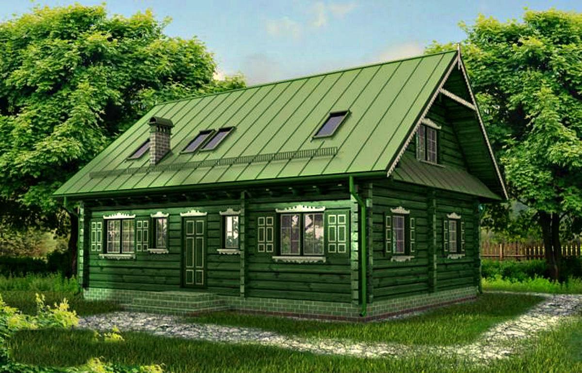 украинской деревенские дома проекты фото светлый оттенок может
